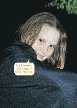 Custom Halloween Card made with Picture Plus