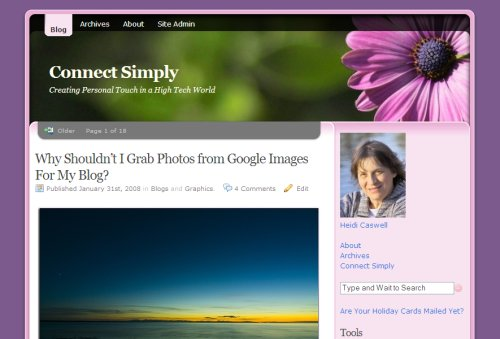 2007 Connect Simply Theme